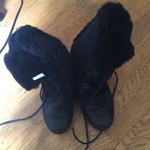 Born shearling lined winter boots great condition